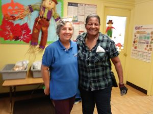 Photo of Brijida Marcano with their co-worker
