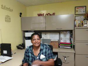 Photo of Brijida Marcano in their office