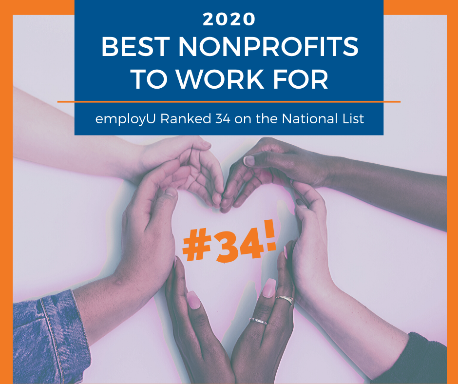 employU Made the 2020 Best Nonprofits to Work For List