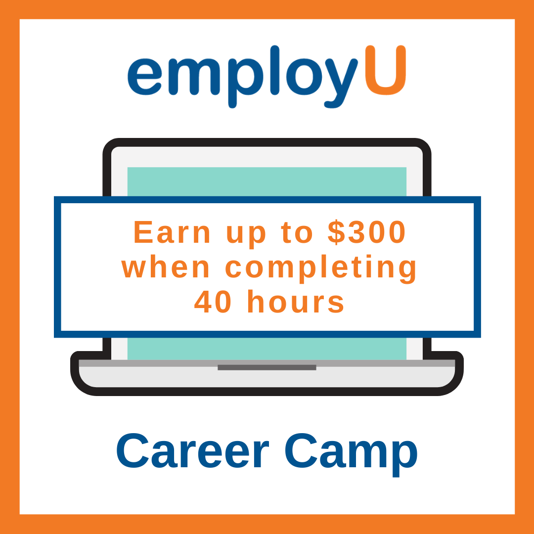 Earn up to 300 dollars when completing 40 hours