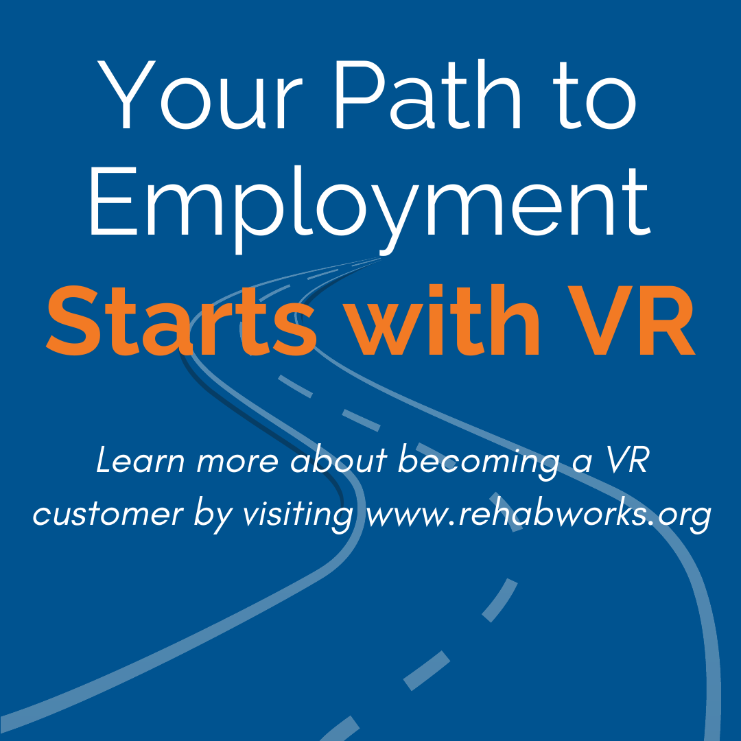 Your path to employment starts with VR