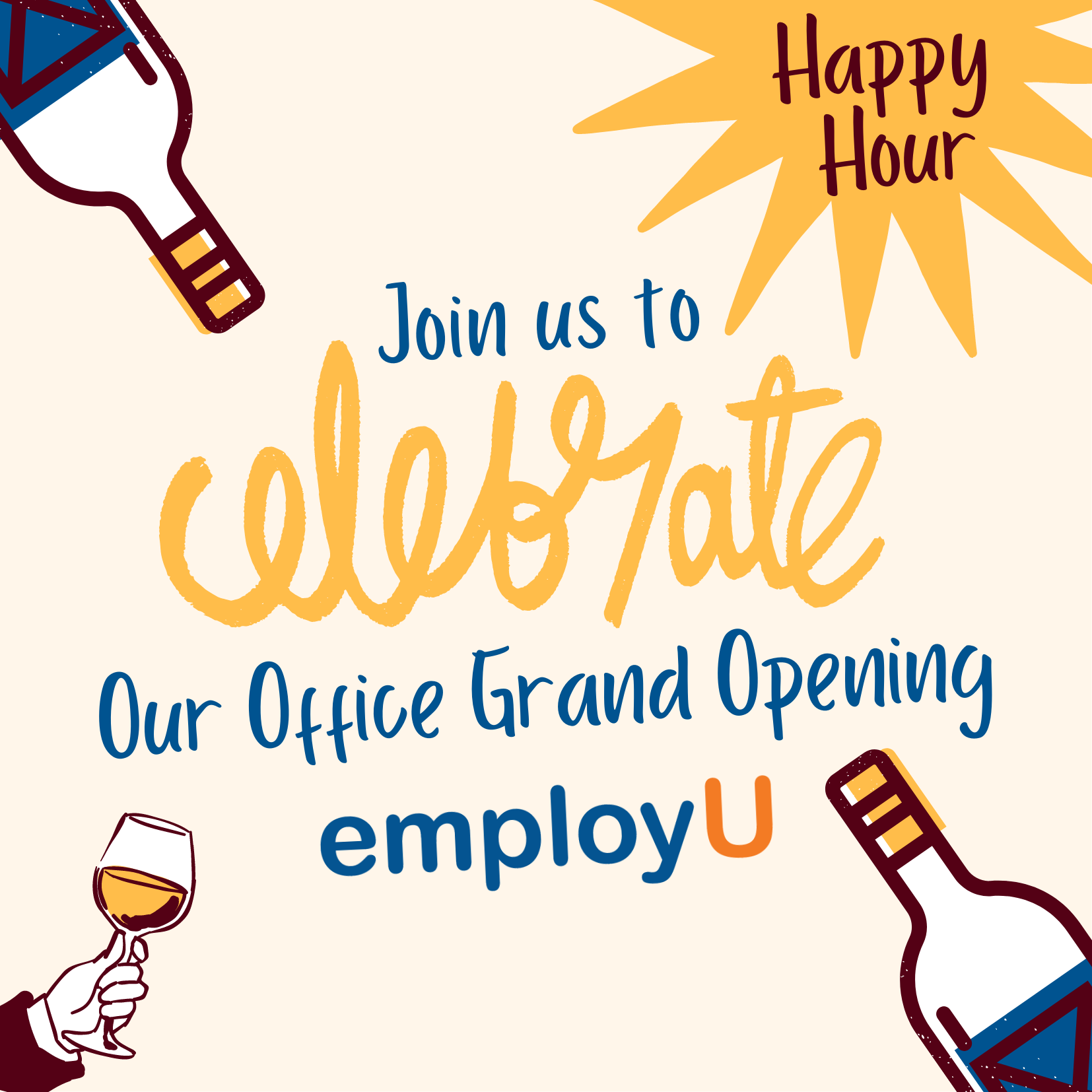 employU tallahassee grand opening happy hour event